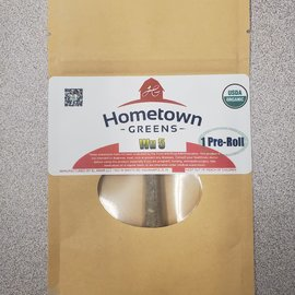 Hometown Greens Hometown Greens Wu 5 Hemp Flower - Single Pre-Roll (0.8g)