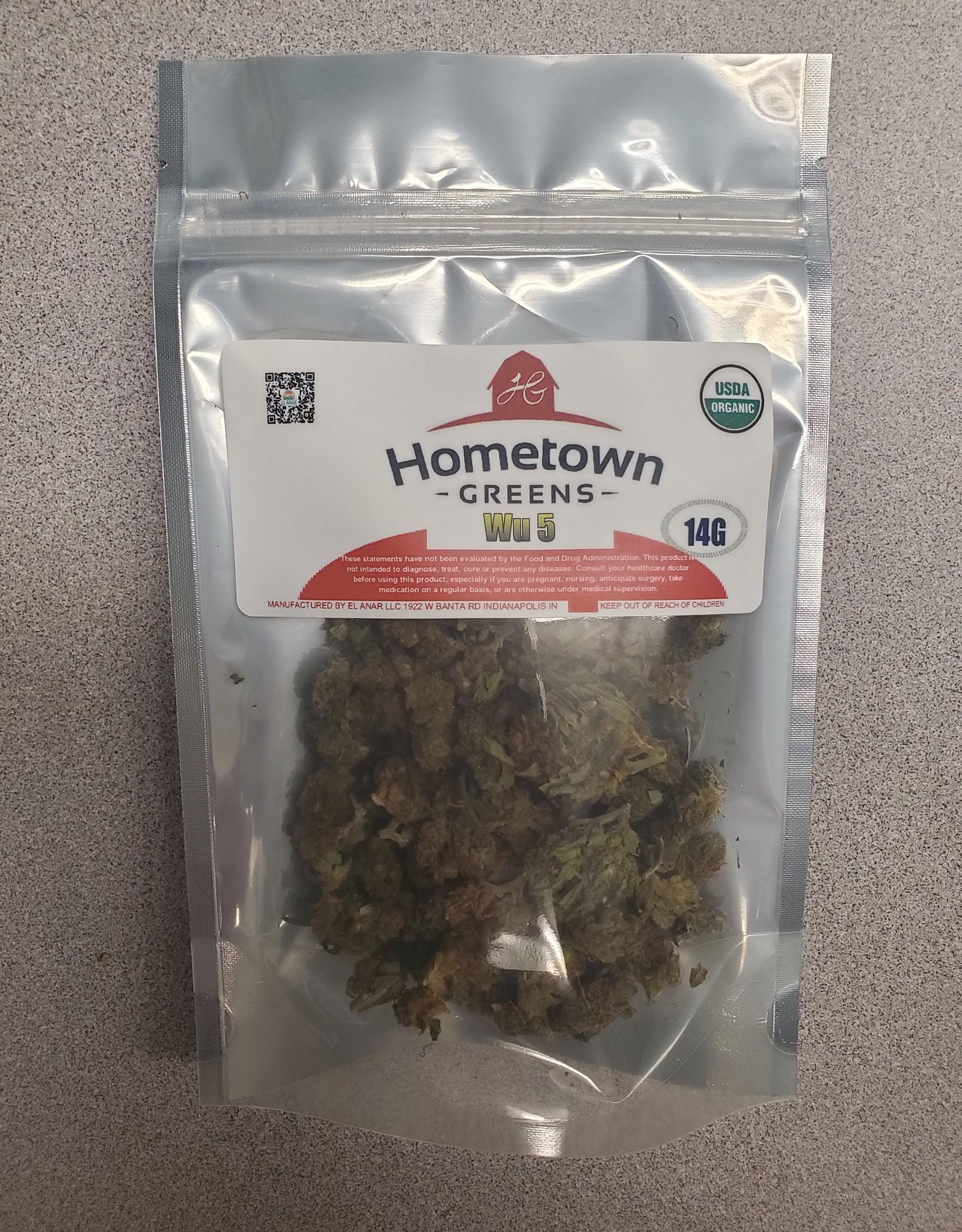 Hometown Greens Wu 5 Hemp Flower - 14g