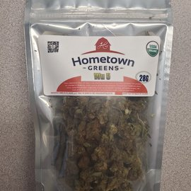 Hometown Greens Hometown Greens Wu 5 Hemp Flower- 28g
