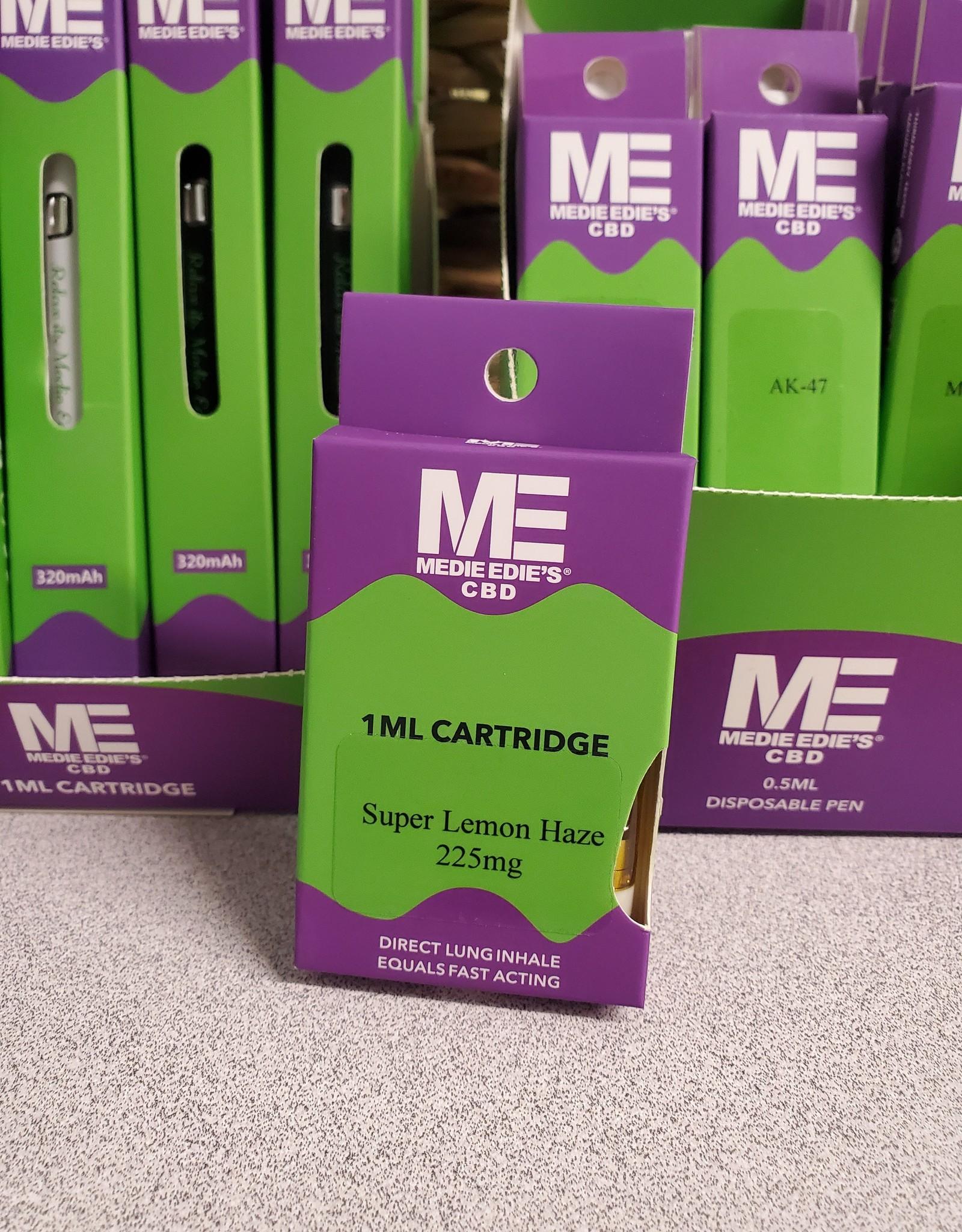 Medie Edie's Super Lemon Haze CBD Vape Cartridge - 225mg - 1ml