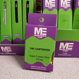 Medie Edie's Medie Edie's Super Lemon Haze CBD Vape Cartridge - 225mg - 1ml