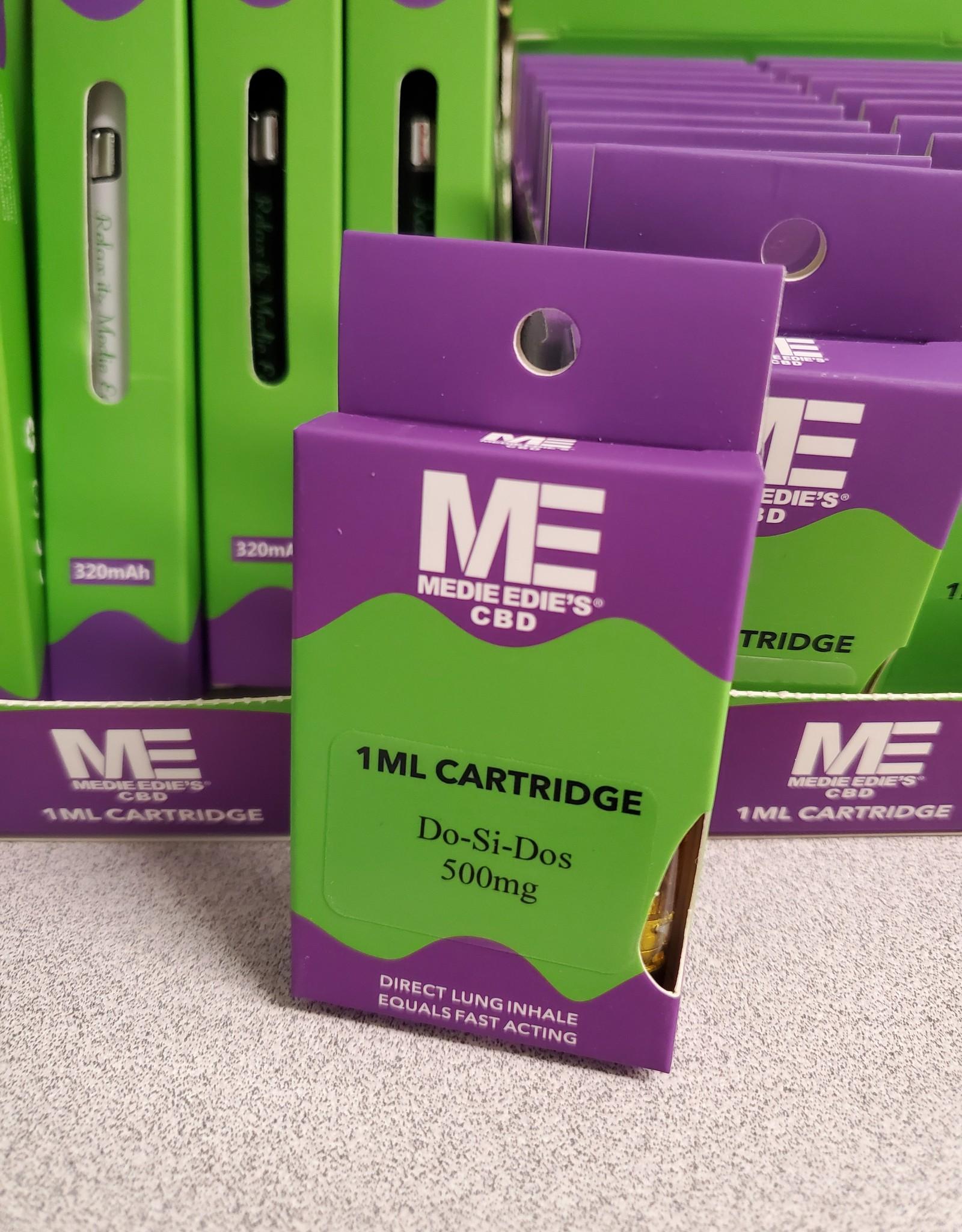 Medie Edie's Do-Si-Dos CBD Vape Cartridge - 500mg - 1ml -
