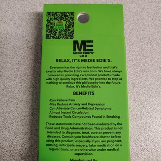 Medie Edie's Do-Si-Dos CBD Vape Cartridge - 500mg - 1ml -
