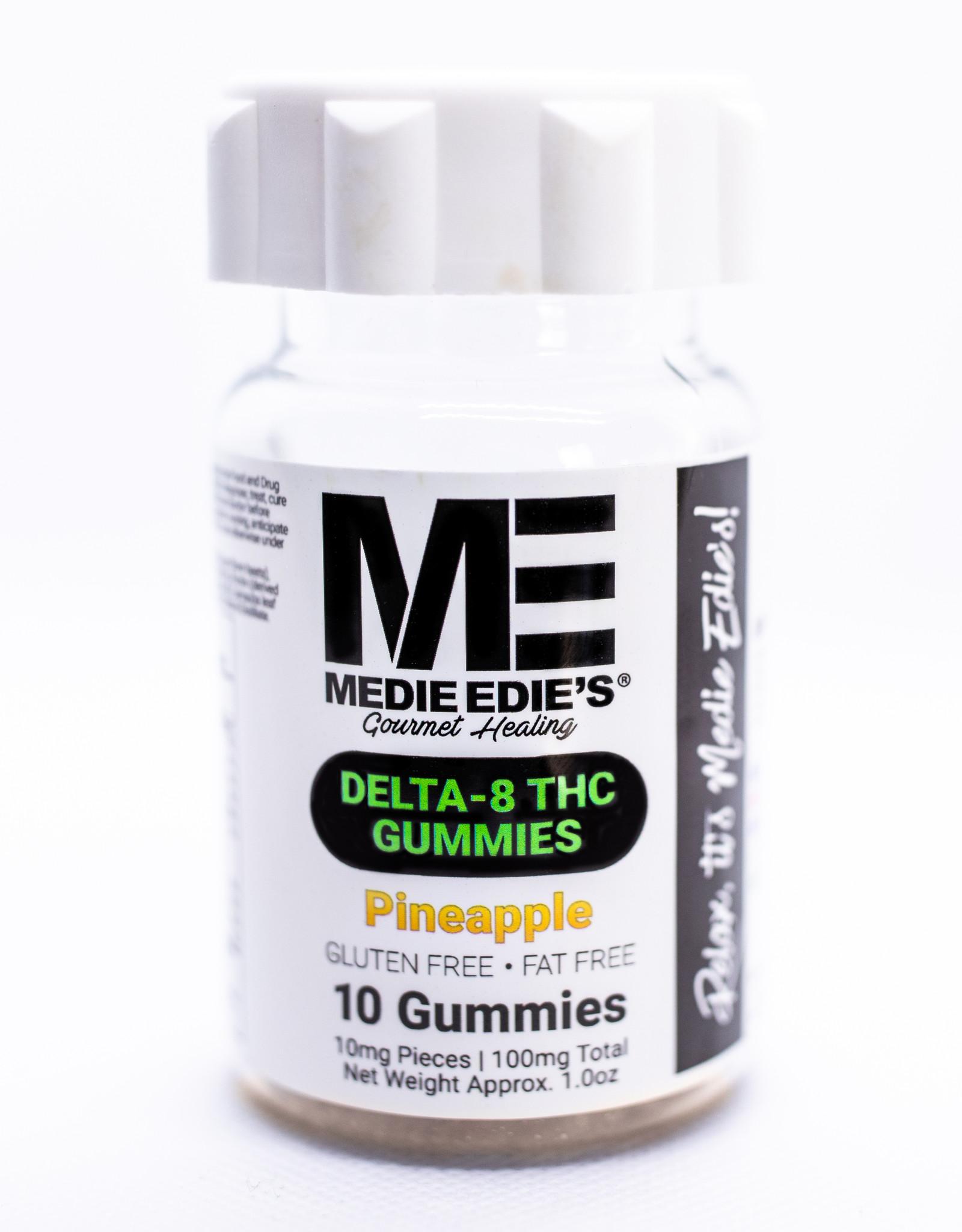 Medie Edie's Medie Edie's- Delta 8 THC Gummies- 10mg/100mg- Pineapple