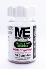 Medie Edie's Medie Edie's 10ct Delta 8 Gummies Pink Grapefruit -  10mg.100mg