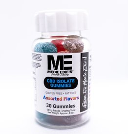 Medie Edie's Medie Edie's 30ct CBD Gummies Assorted - 25mg.750mg