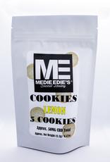 Medie Edie's Lemon CBD Cookies - 5ct - 10mg/50mg