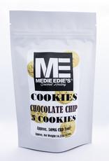 Medie Edie's Chocolate Chip CBD Cookies - 5ct - 10mg/50mg