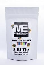 Medie Edie's Fruity CBD Dream Bites-5pc/10mg/50mg