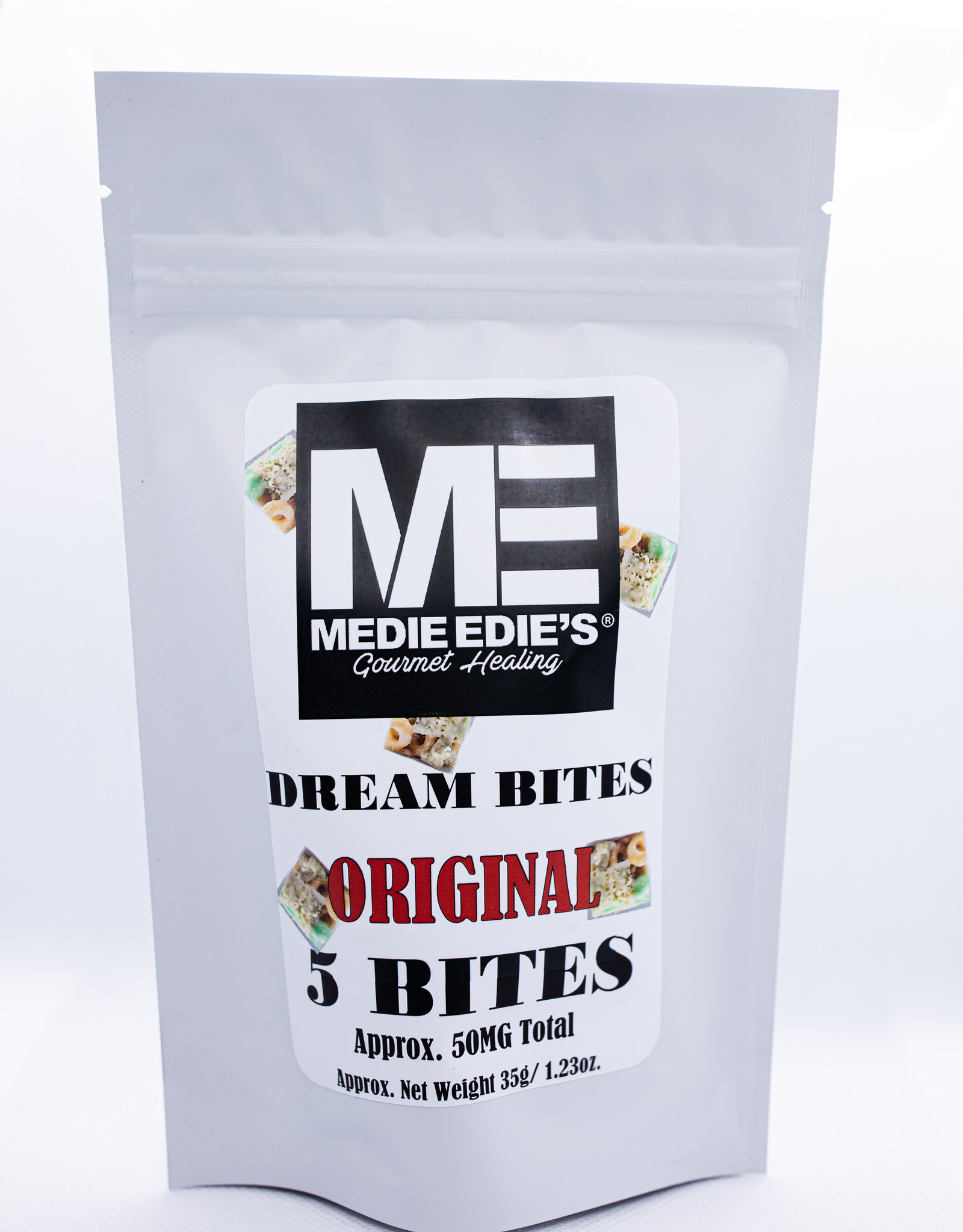 Medie Edie's Original CBD Dream Bites-5pc/10mg/50mg