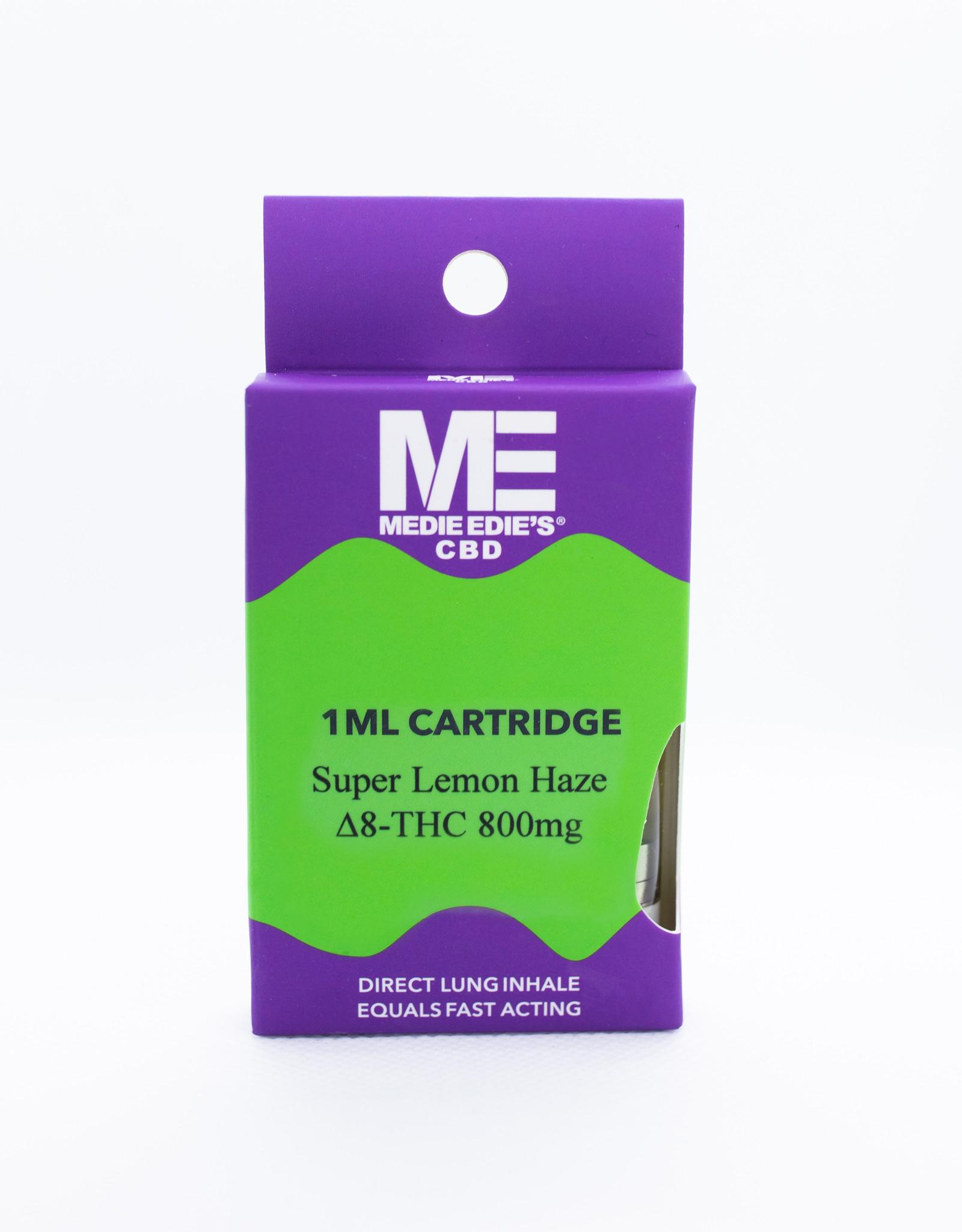 Medie Edie's Medie Edie's 1ml Delta-8 Vape Cartridge Super Lemon Haze -  800mg