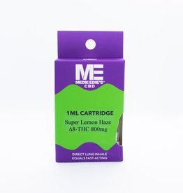 Medie Edie's Medie Edie's Delta-8 Vape Cartridge - 800mg - 1mL - Super Lemon Haze