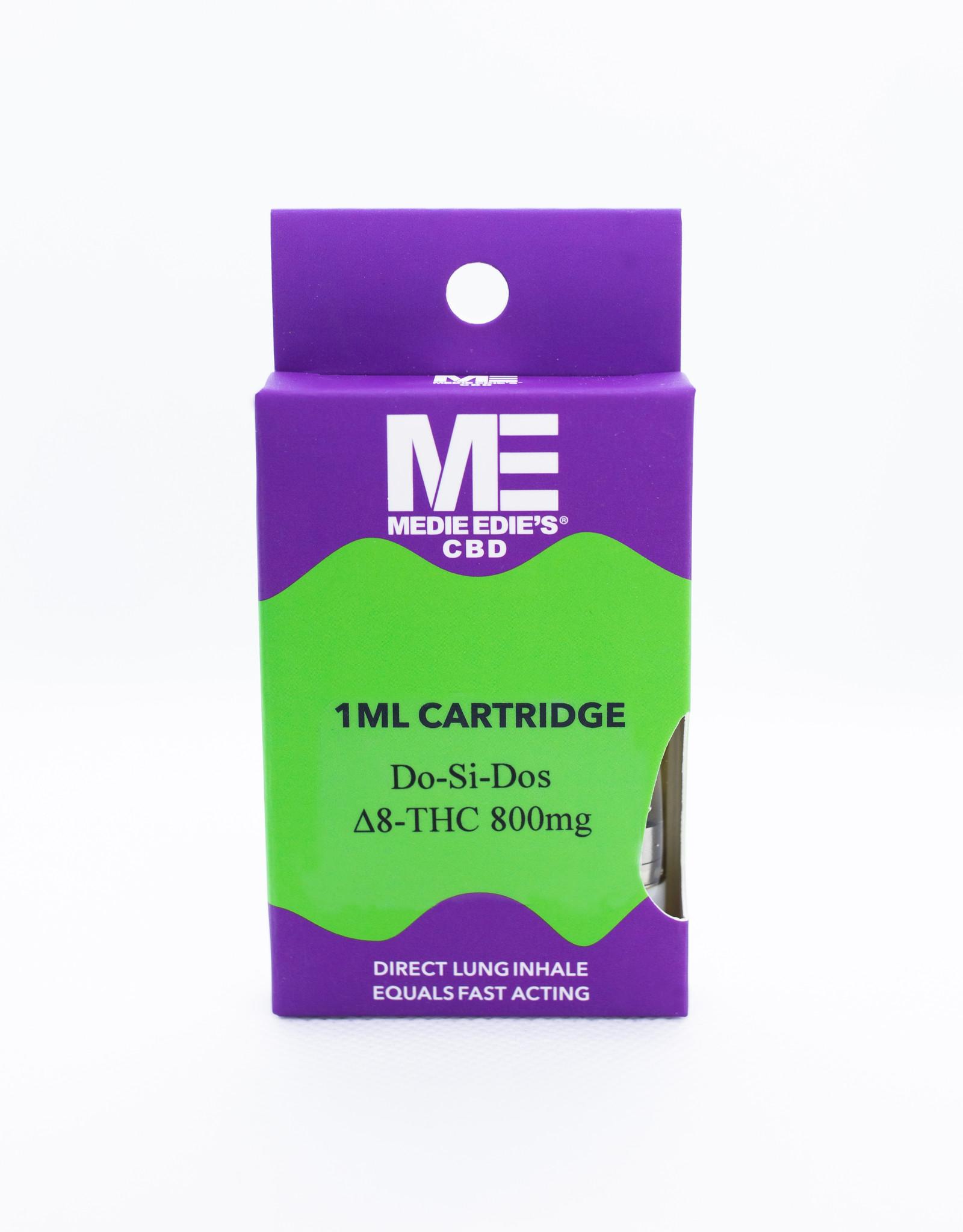 Medie Edie's Medie Edie's Delta-8 Vape Cartridge - 800mg - 1mL - Do-Si-Dos