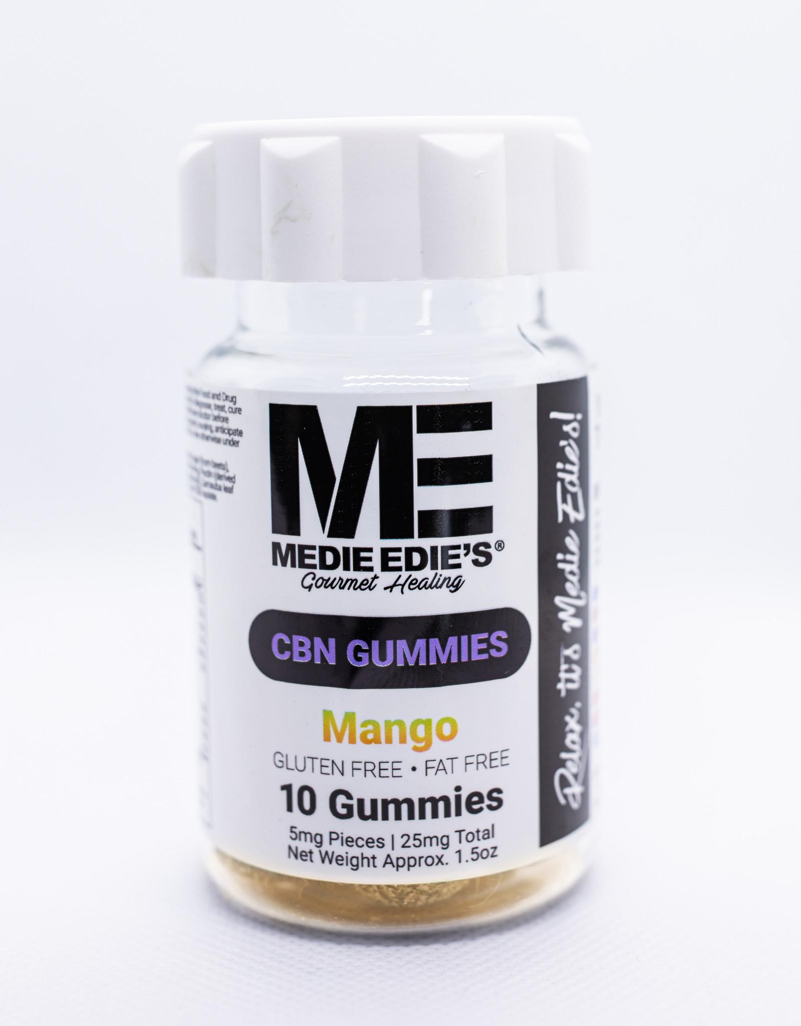 Medie Edie's Mango CBN Gummies - 10ct/5mg/50mg