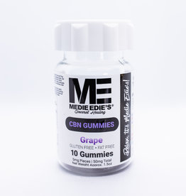 Medie Edie's Medie Edie's Grape CBN Gummies - 10ct/5mg/50mg