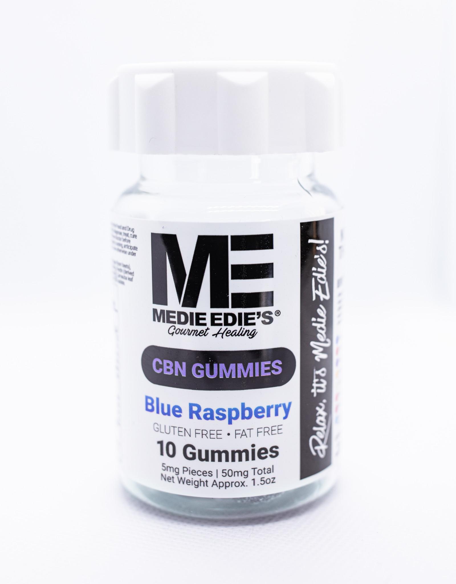 Medie Edie's Blue Raspberry CBN Gummies - 10ct/5mg/50mg