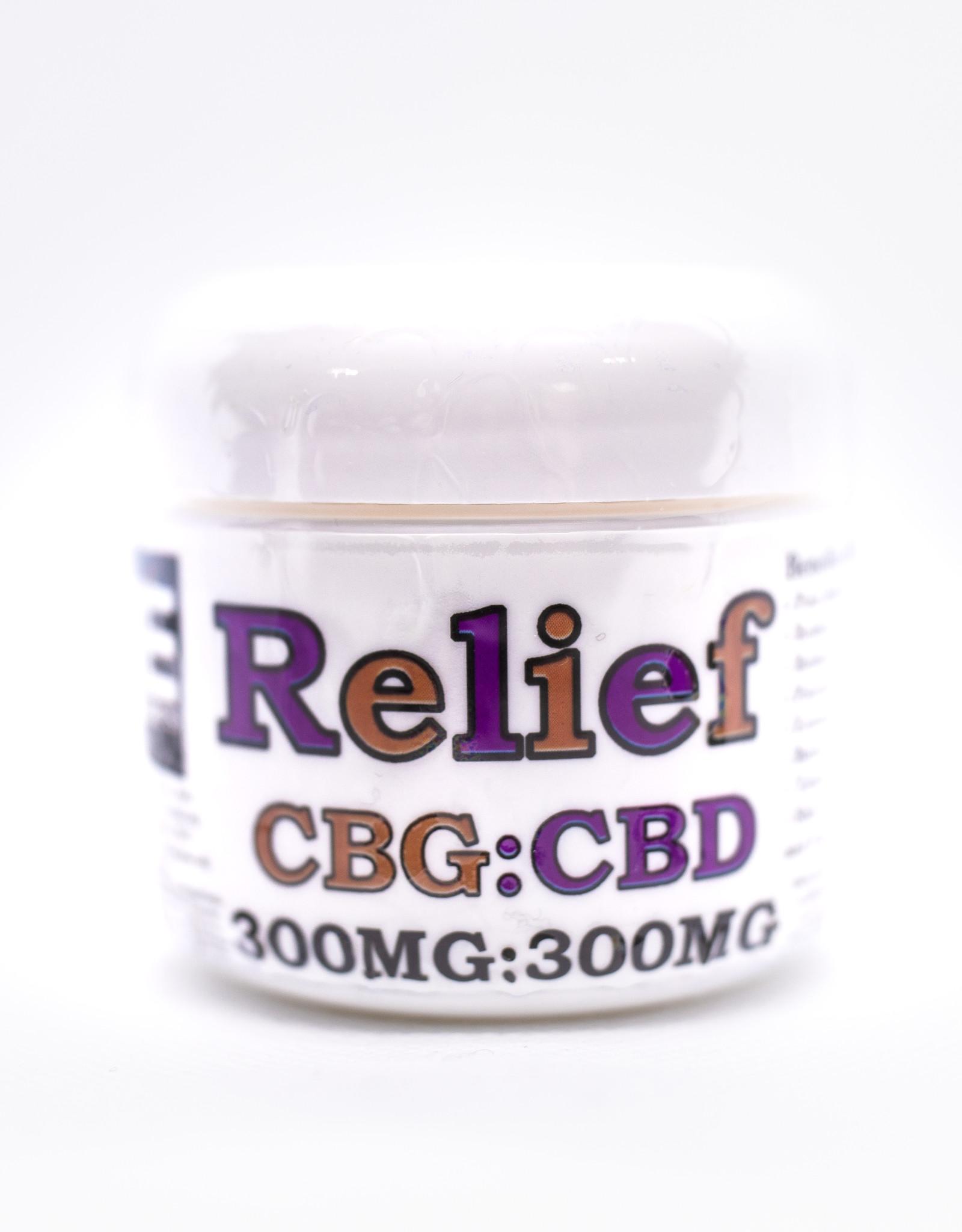Medie Edie's CBG : CBD - Relief 2oz/300mg:300mg