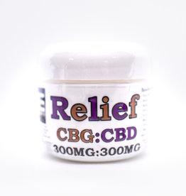 Medie Edie's Medie Edie's 2oz CBG : CBD Relief cream - 300mg:300mg