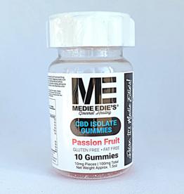 Medie Edie's Medie Edie's Passion Fruit CBD Gummies - 10ct/10mg/100mg
