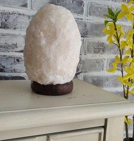 Himalayan Secrets - White Salt Lamp