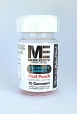 Medie Edie's Fruit Punch CBD Gummies - 10ct/10mg/100mg