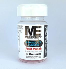 Medie Edie's Medie Edie's Fruit Punch CBD Gummies - 10ct/10mg/100mg