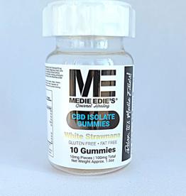 Medie Edie's Medie Edie's White Strawnana CBD Gummies - 10ct/10mg/100mg