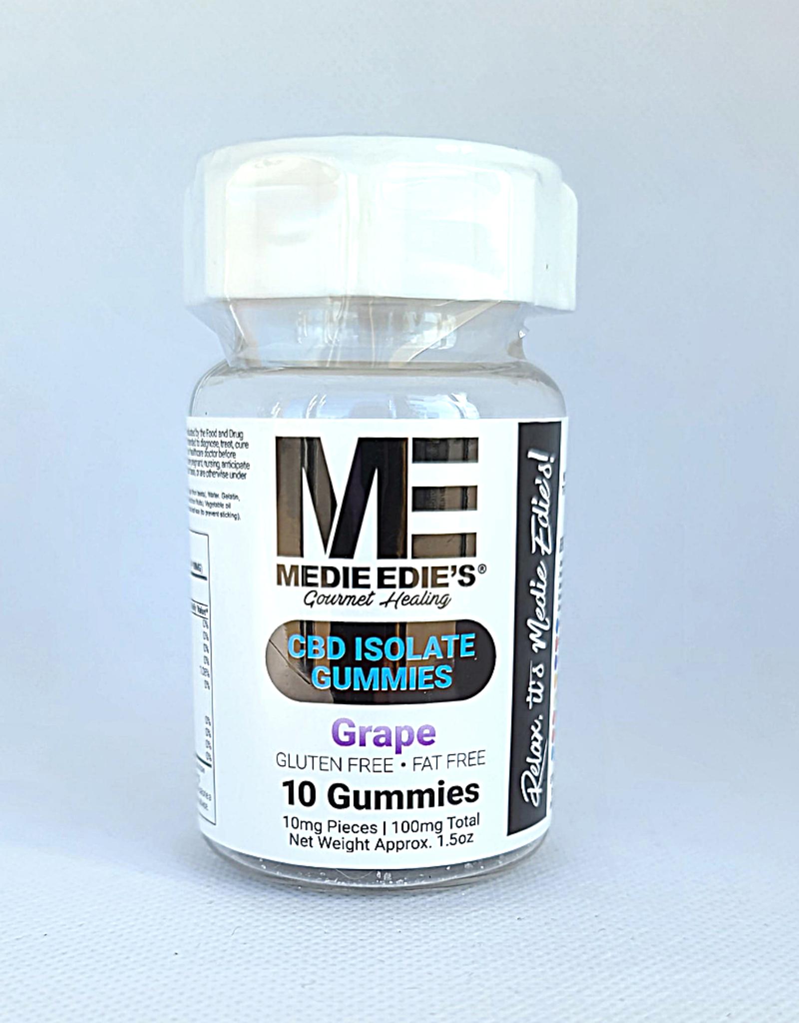 Medie Edie's Grape CBD Gummies - 10ct/10mg/100mg