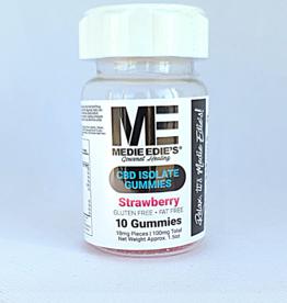 Medie Edie's Medie Edie's Strawberry CBD Gummies - 10ct/10mg/100mg