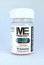 Medie Edie's Orange CBD Gummies - 10mg/100mg