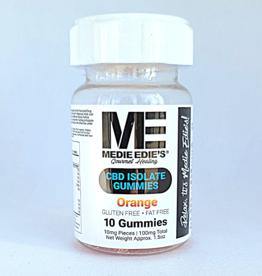 Medie Edie's Medie Edie's Orange CBD Gummies - 10mg/100mg