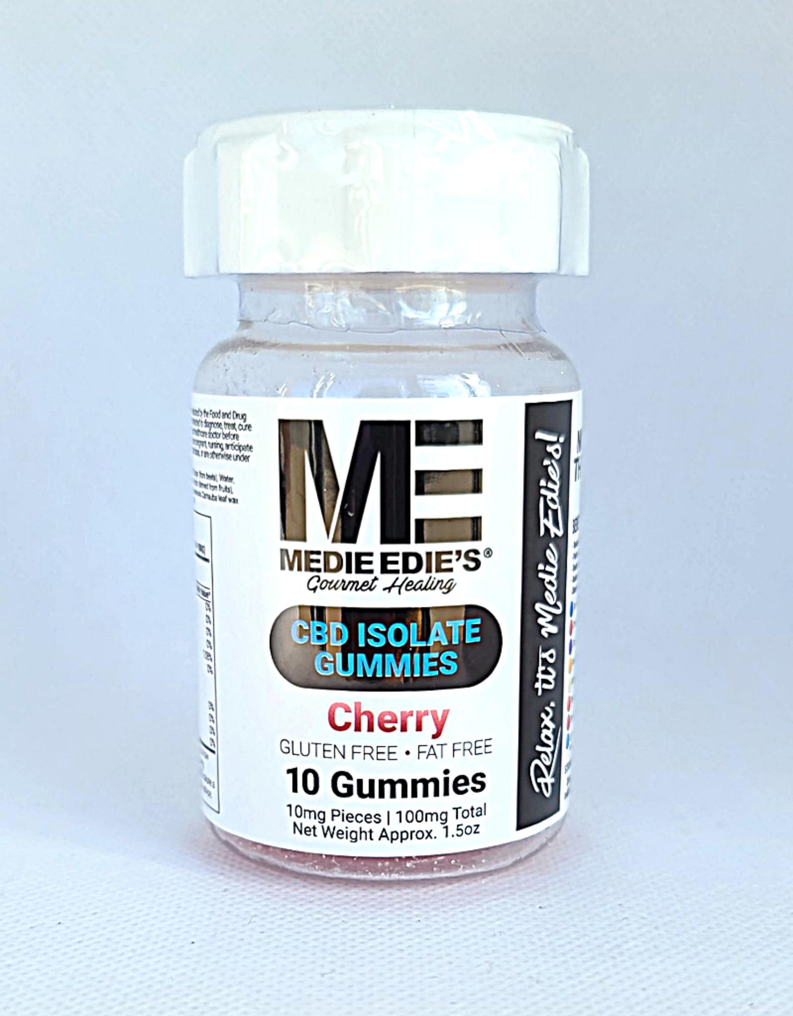 Medie Edie's Cherry CBD Gummies - 10ct/10mg/100mg