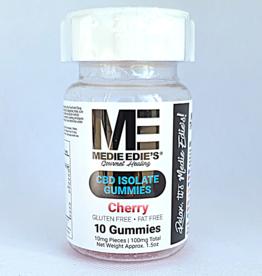 Medie Edie's Medie Edie's Cherry CBD Gummies - 10ct/10mg/100mg