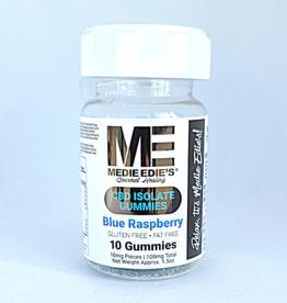 Medie Edie's Medie Edie's Blue Raspberry CBD Gummies - 10ct/10mg/100mg