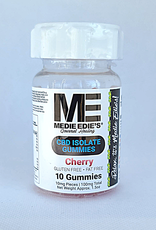 Medie Edie's Sour Cherry CBD Gummies - 10ct/10mg/100mg