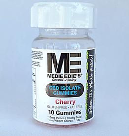 Medie Edie's Medie Edie's Sour Cherry CBD Gummies - 10ct/10mg/100mg