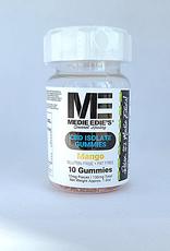 Medie Edie's Sour Mango CBD Gummies - 10ct/10mg/100mg