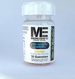 Medie Edie's Medie Edie's Sour Mango CBD Gummies - 10ct/10mg/100mg