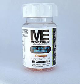 Medie Edie's Medie Edie's Sour Orange CBD Gummies - 10ct/10mg/100mg