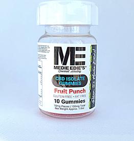 Medie Edie's Medie Edie's Sour Fruit Punch CBD Gummies - 10ct/10mg/100mg