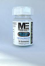 Medie Edie's Sour Light Blue Watermelon CBD Gummies - 10ct/10mg/100mg