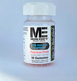 Medie Edie's Medie Edie's Sour Passion Fruit CBD Gummies - 10ct/10mg/100mg