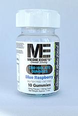 Medie Edie's Sour Blue Raspberry CBD Gummies - 10ct/10mg/100mg