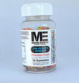 Medie Edie's Medie Edie's Pebbled Passion Fruit CBD Gummies - 10ct/10mg/100mg