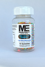 Medie Edie's Pebbled Light Blue Watermelon CBD Gummies - 10ct/10mg/100mg