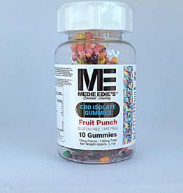 Medie Edie's Medie Edie's Pebbled Fruit Punch CBD Gummies - 10ct/10mg/100mg