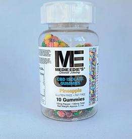 Medie Edie's Medie Edie's Pebbled Pineapple CBD Gummies - 10ct/10mg/100mg