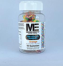 Medie Edie's Medie Edie's Pebbled Orange CBD Gummies - 10ct/10mg/100mg