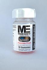 Medie Edie's Passion Fruit CBD:CBG Gummies - 10ct/10mg/100mg