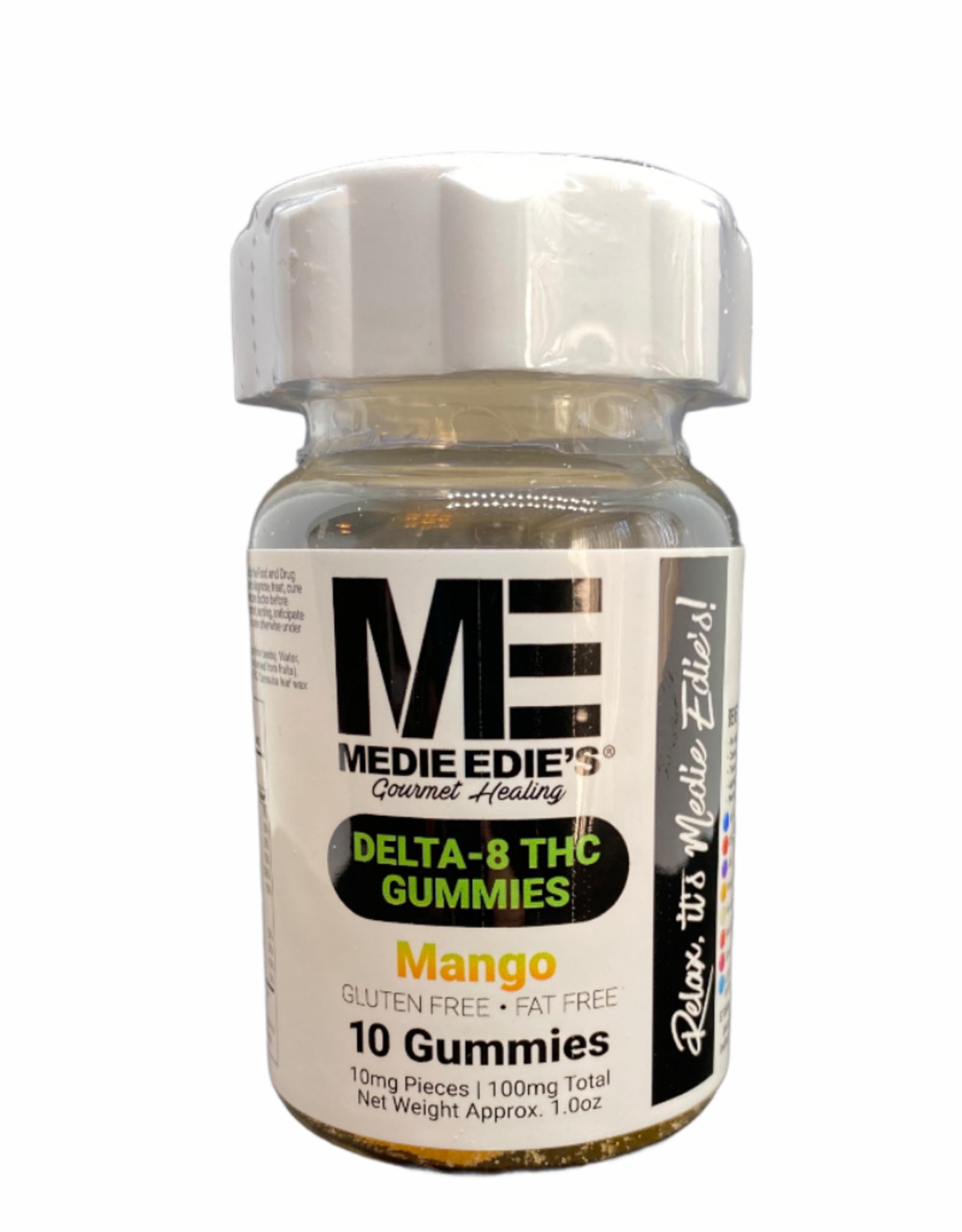 Medie Edie's Medie Edie's 10ct Delta 8 Gummies Mango-10mg.100mg